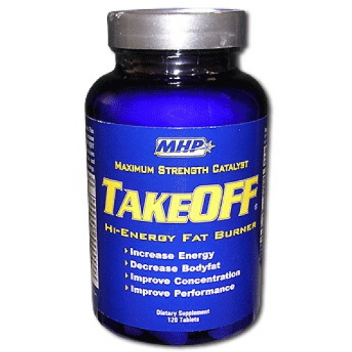Mhp takeoff hi-energy fat burner (take-off), 120 tablets mhp takeoff ephedra free xtreme energy fat burner fights
